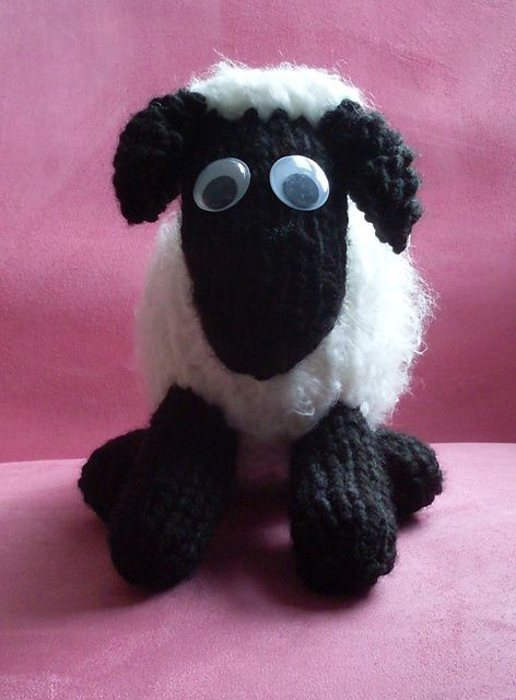 Shaun The Sheep Knitted Toy Pattern By Erika Hughes Free Download