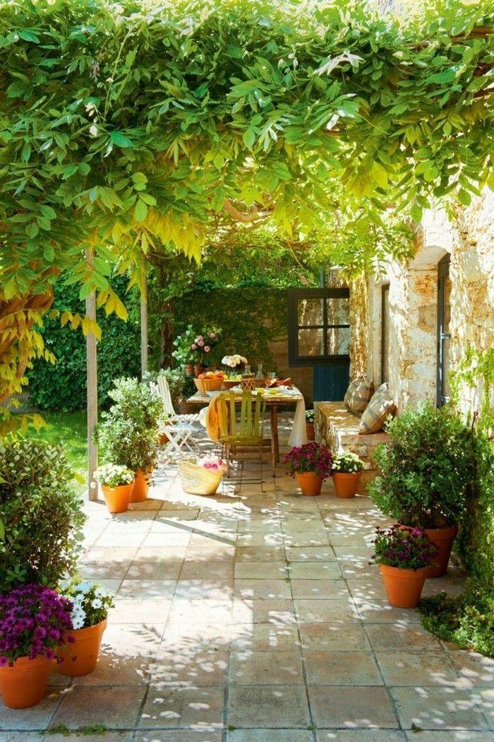 Mein Schöner Garten Balkon Oder Garten Bepflanzen Blumentöpfe