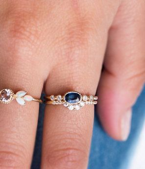 images stack pinterest rings audry lovely recycled moonstone silver fresh wedding bands rose best on of diamond