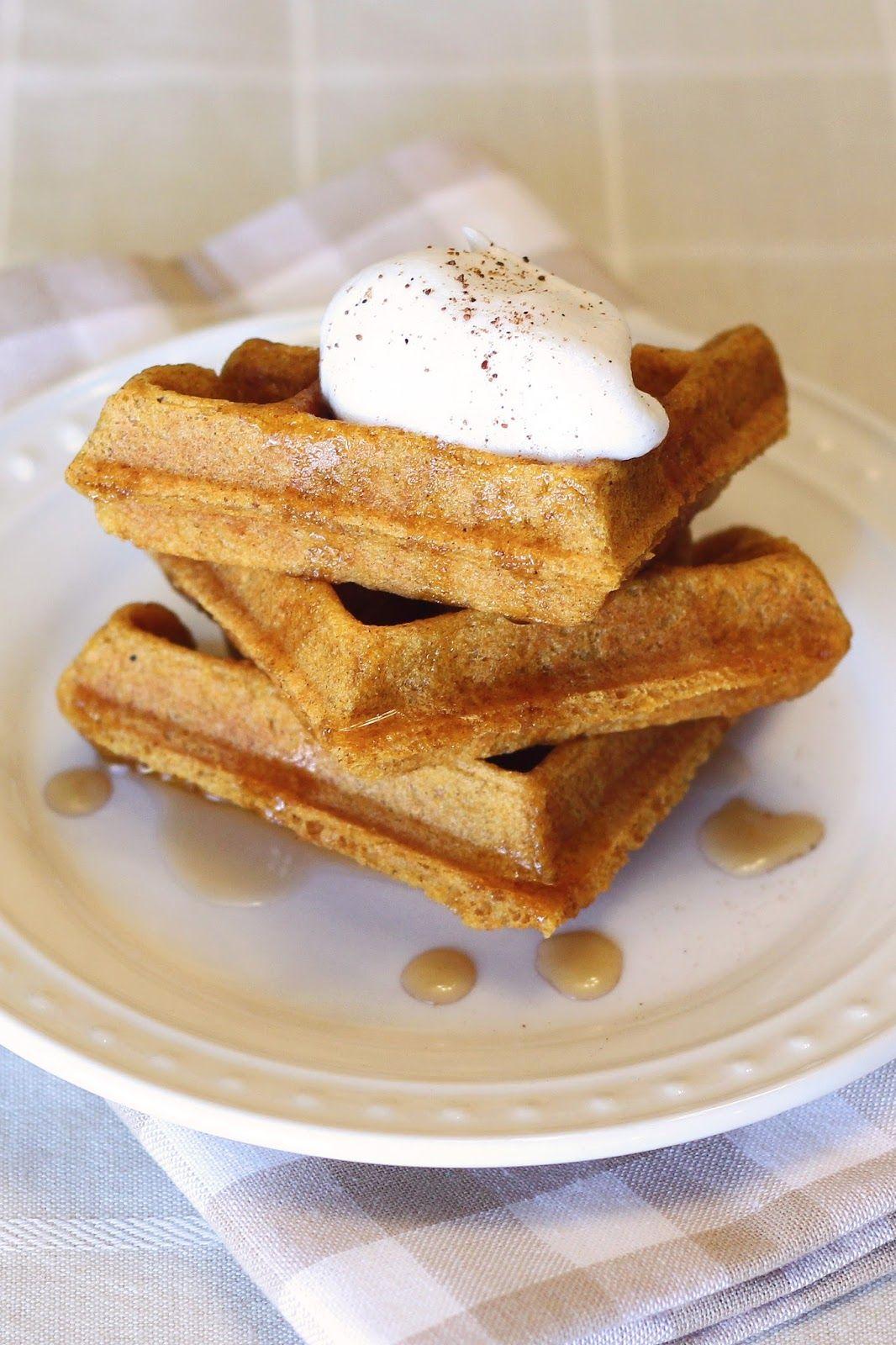 Gluten free vegan pumpkin waffles Recipe (With images