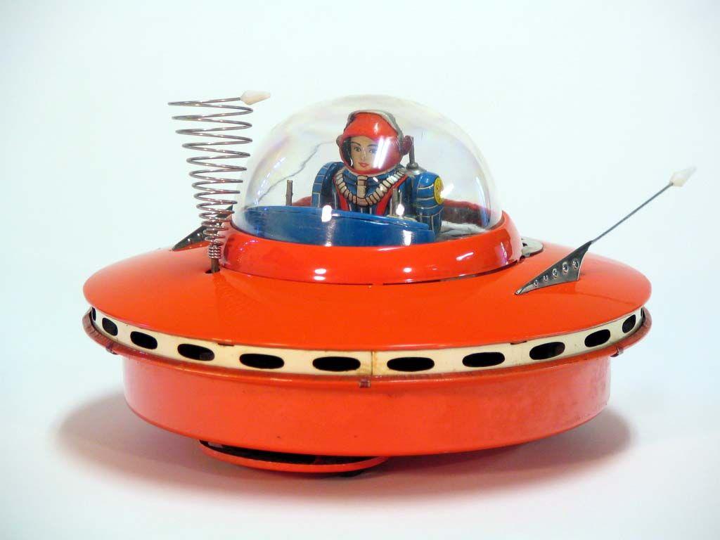 Vintage Tin Toys : More great vintage japanese tin space toys s