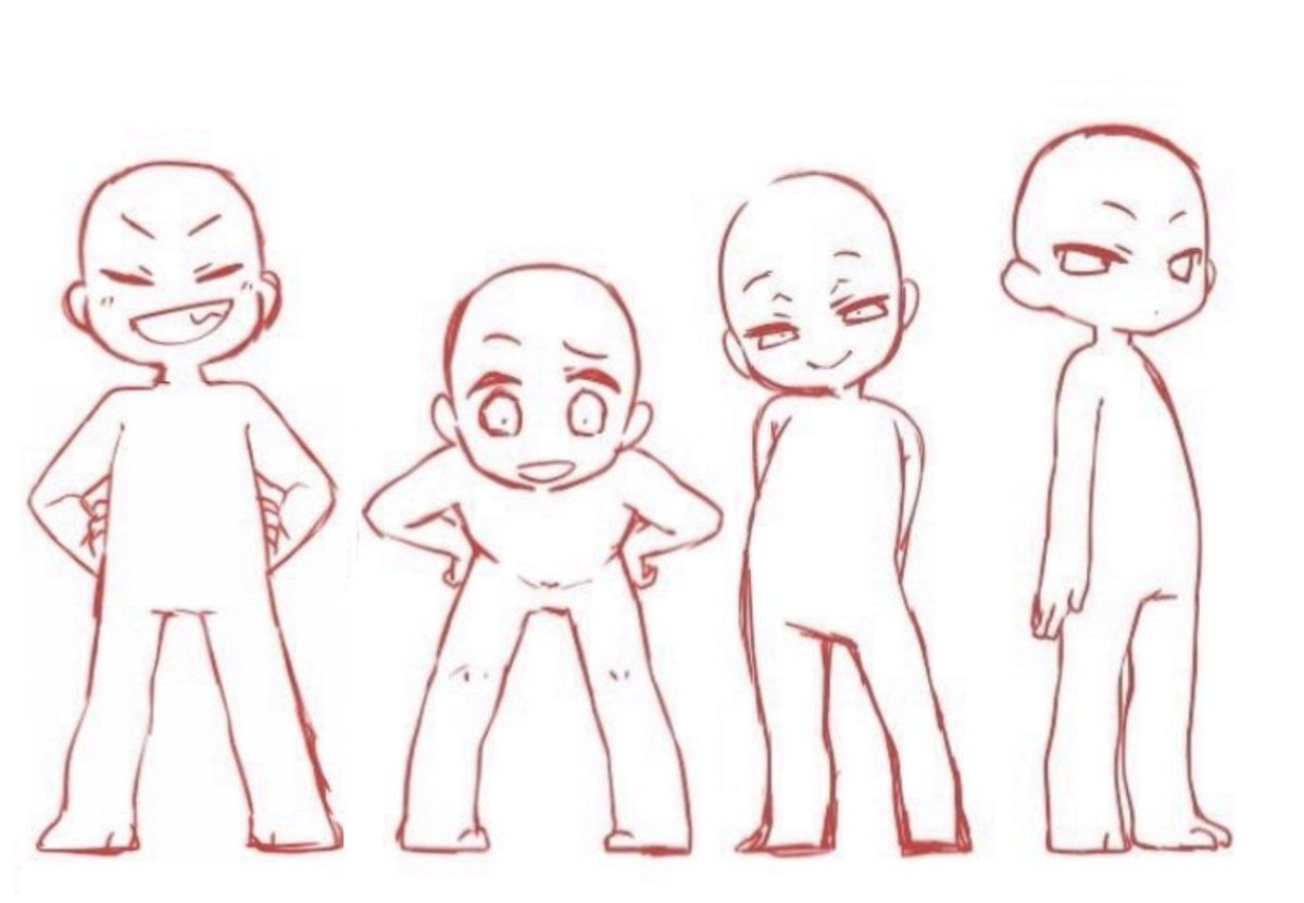 Media Preview Chibi Drawings Art Reference Poses Art Reference Photos These short figures are recognizable for their oversized heads, cute faces, and small bodies. chibi drawings art reference poses
