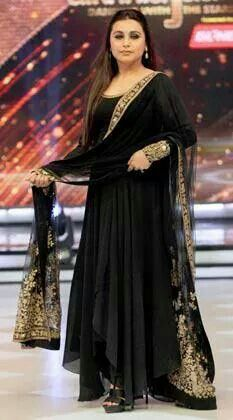 820c7867ce Black gold | malya | Indian designer wear, Indian dresses, Indian ...