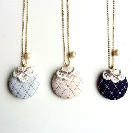 Otome Pendant Necklace by HOMAKO