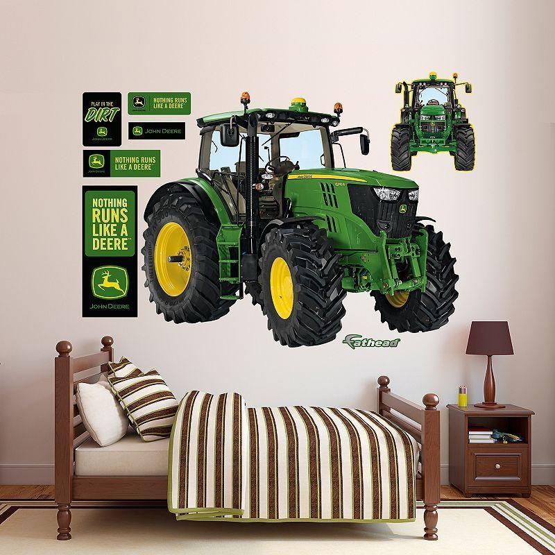 John Deere 6210r Tractor Wall Decals By Fathead Multicolor