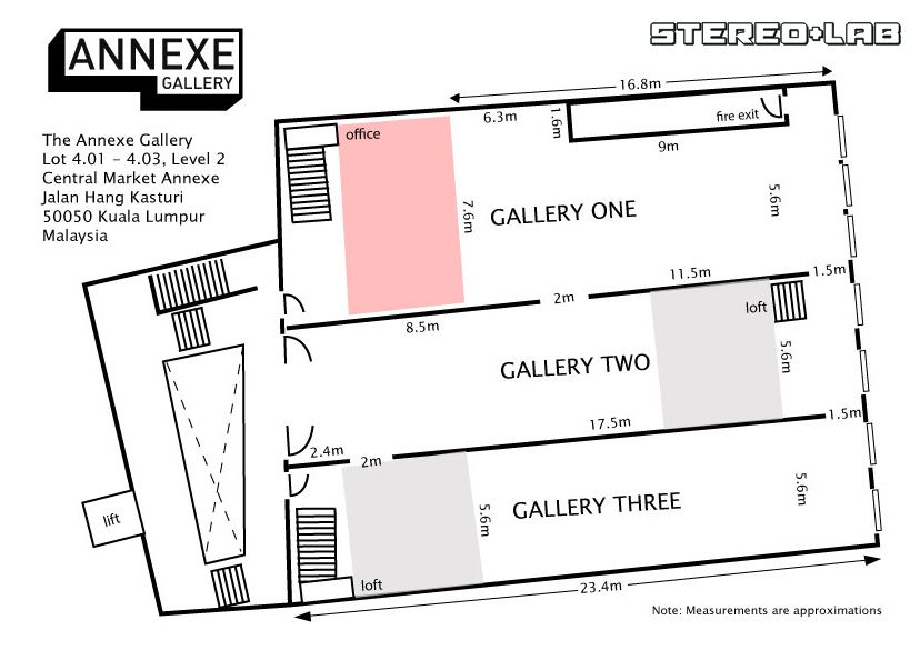 Small Art Gallery Floor Plan