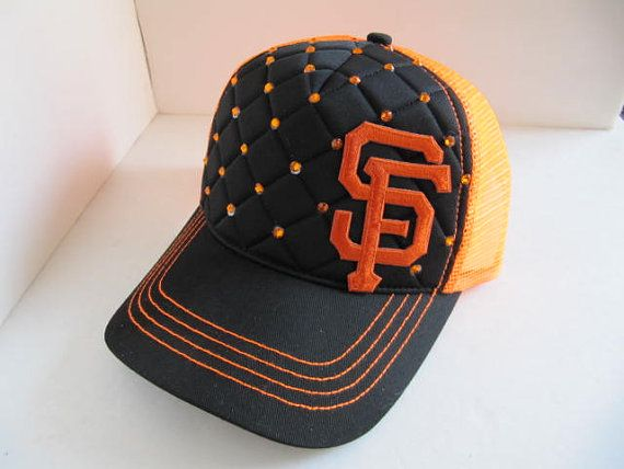 6c54dc116c87d Giants Hat SF Giants Trucker Hat Giants Hat SF by TheApicellaEdge