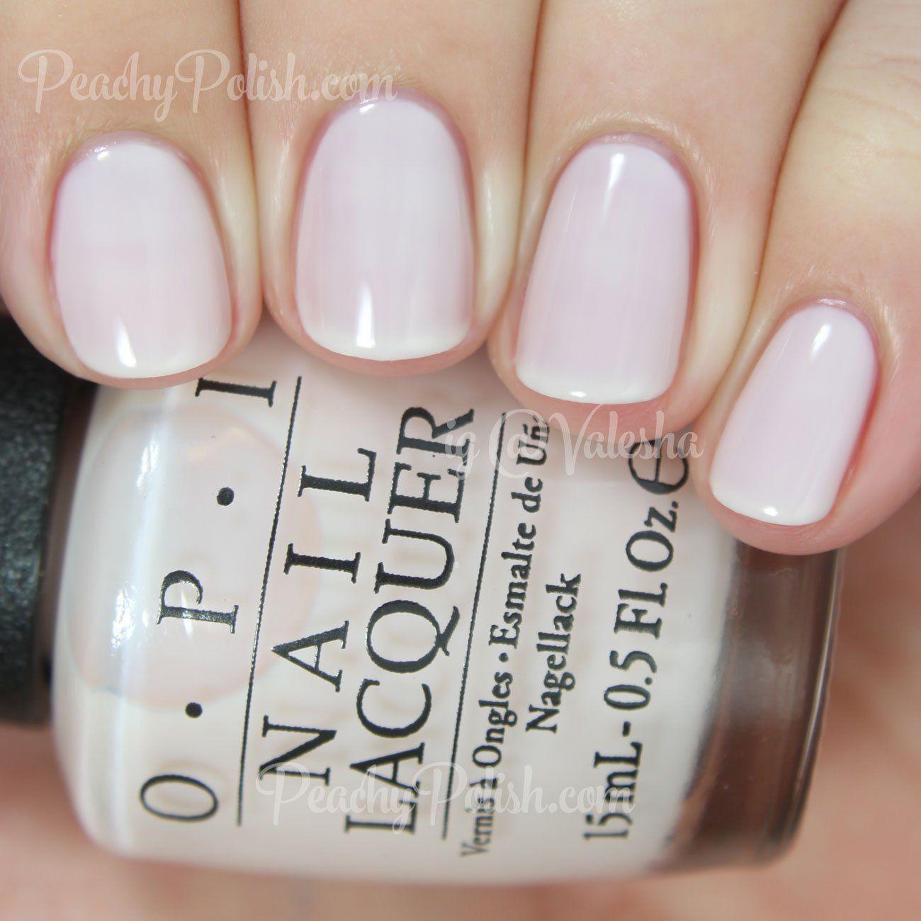 opi act your beige! | soft shades 2015 | peachy polish | wedding