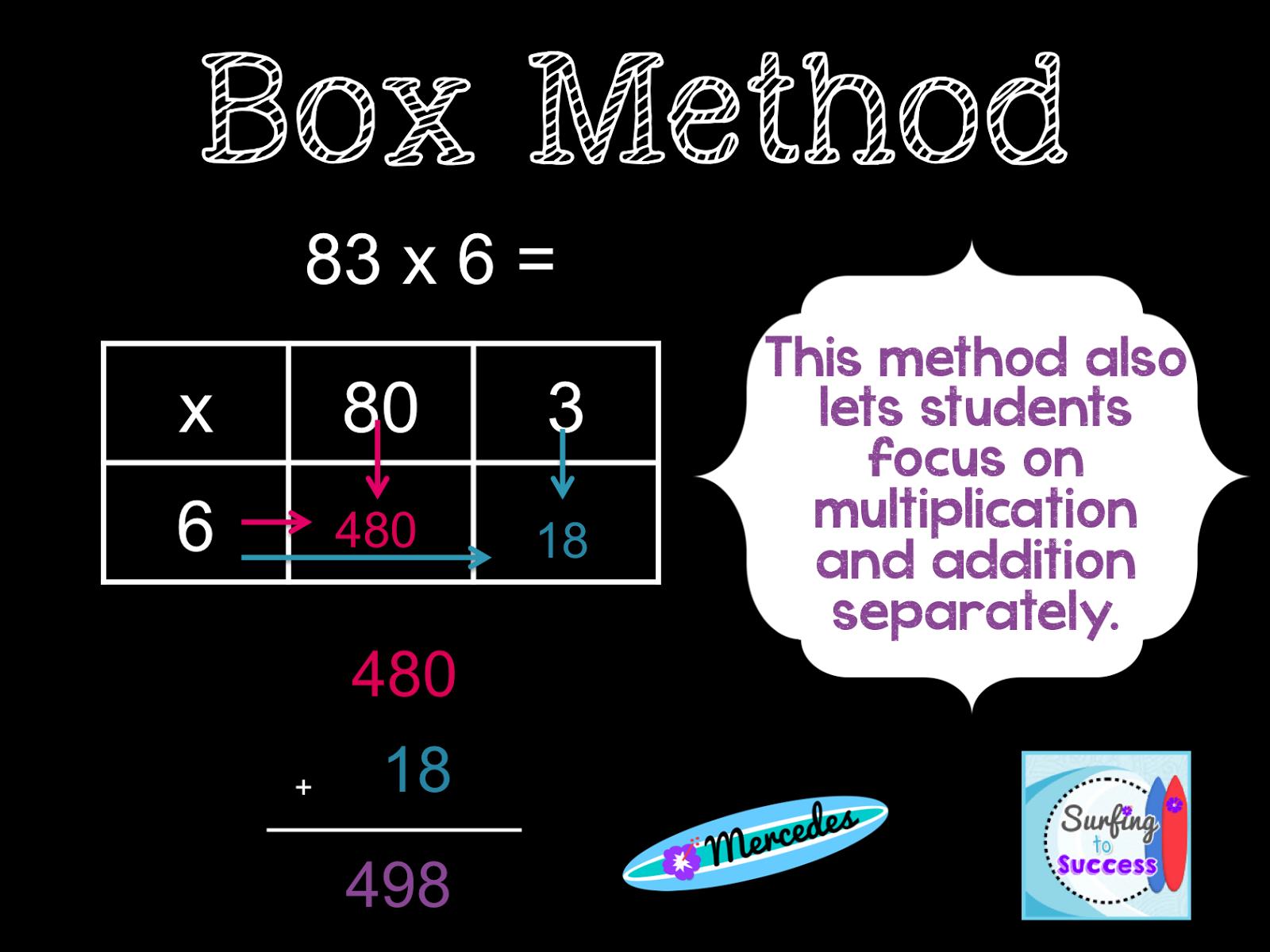 3 strategies for multiplying multi digit numbers multiplication math and school. Black Bedroom Furniture Sets. Home Design Ideas