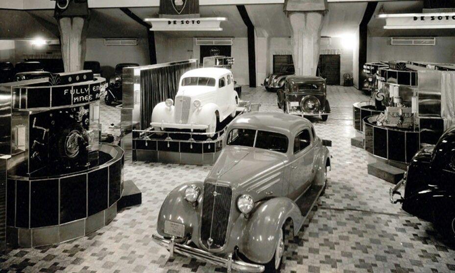 1935 Chicago Auto Show | Chicago auto show, Retro cars, Classic cars