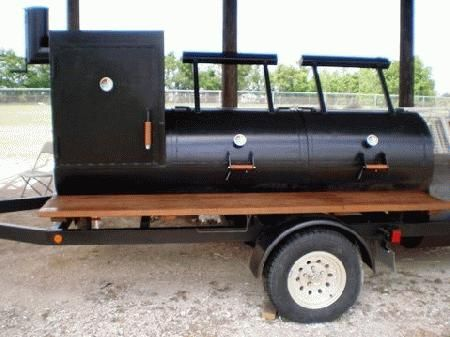 Bbq Pit Smoker On Trailer Available To Rent For 250