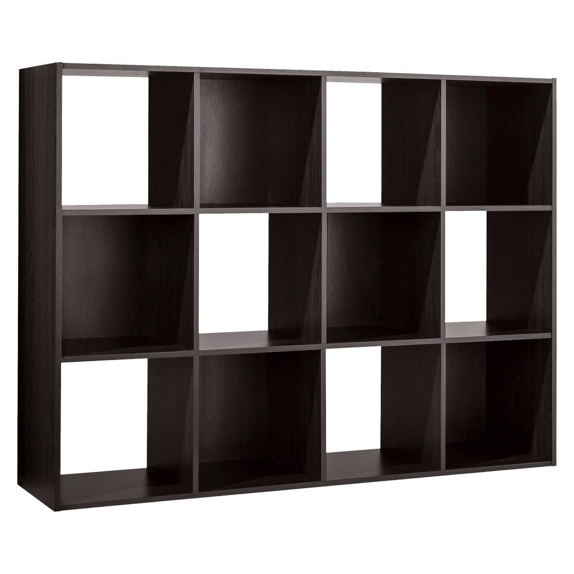 Room Essentials 12 Cube Organizer Espresso Cube Organizer Cube Storage Room Essentials
