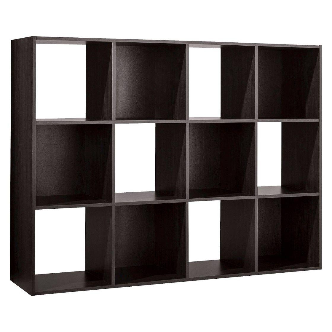 Room Essentials 12 Cube Organizer Espresso Cube Organizer Cube Storage Room Essentials