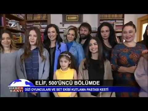 Elif dizisi 500. Bölümü kutladı