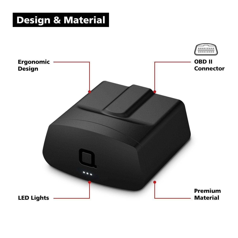 nonda ZUS Smart Vehicle Health Monitor Wireless OBD2 Car