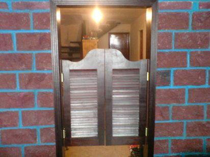 Decoración Con Elementos Originales Cómo Hacer Unas Puertas Tipo Cantina Cantinas De Madera Puertas Puerta Vaiven