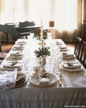 Passover entertaining comida de fiesta decoracion mesas - Martha stewart decoracion ...