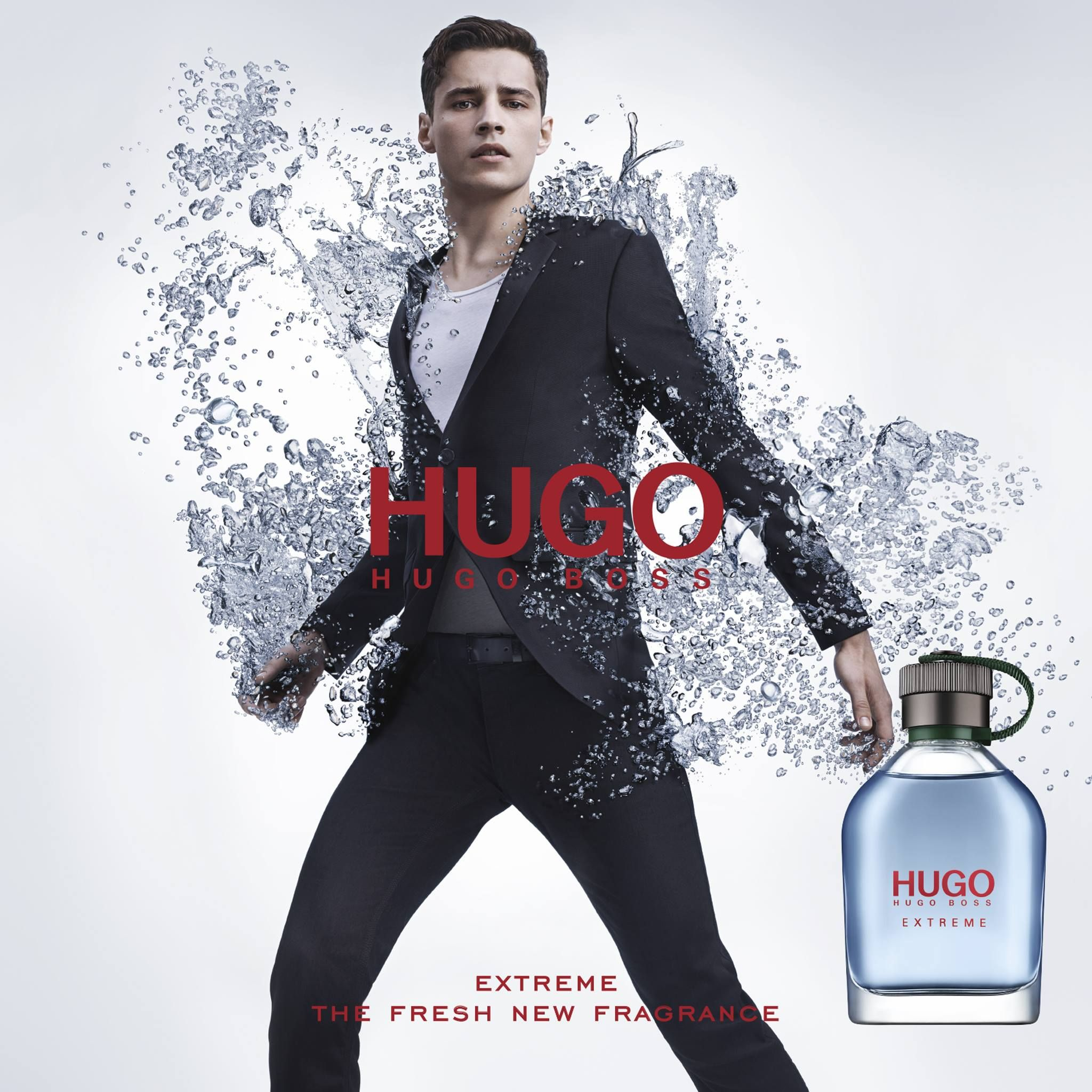 German brand Hugo Boss reunites with French model Adrien Sahores for a new  fragrance campaign. The top model f… | Hugo boss fragrance, Fragrance  campaign, Fragrance