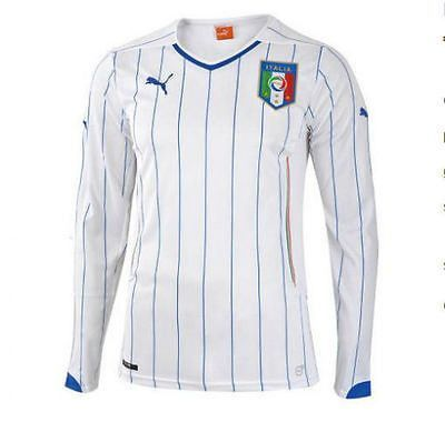 699339b462a PUMA ITALY LONG SLEEVE AWAY JERSEY FIFA WORLD CUP BRAZIL 2014. Forza Italia!  The