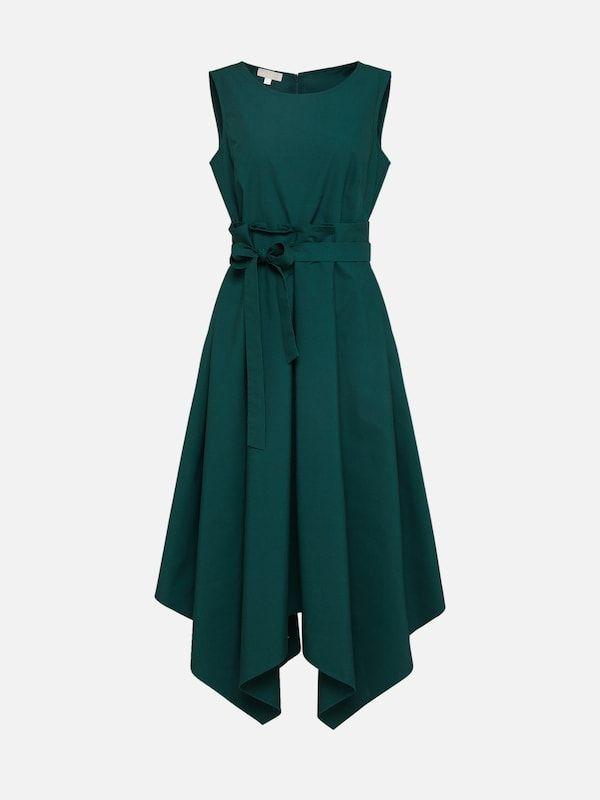 talkabout kleid in dunkelgrün bei about you bestellen