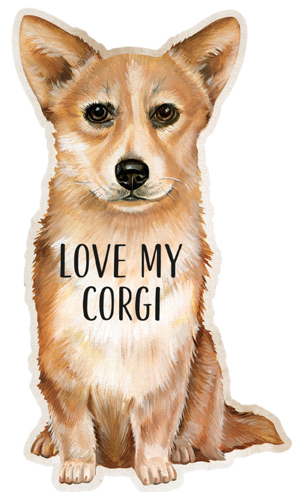 Corgi Love Magnet