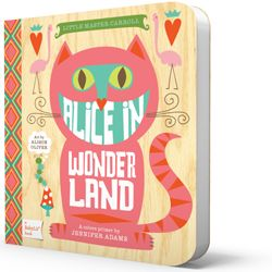 Classic books made into simple, amazingly designed children's board books via BabyLit. These are adorable! They have Alice in Wonderland, Jane Eyre, Moby Dick, Romeo and Juliet, and more!
