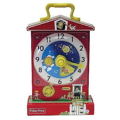 Fisher-Price Classics Music Box Teaching Clock