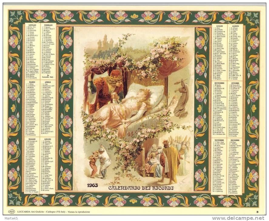 Calendario dei ricordi anno 1963 numero dell 39 oggetto for Numero dei parlamentari italiani