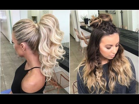Youtube Hairstyles Professional Hairstyle Tricks You Can Do Alone  Youtube  Hairstyle