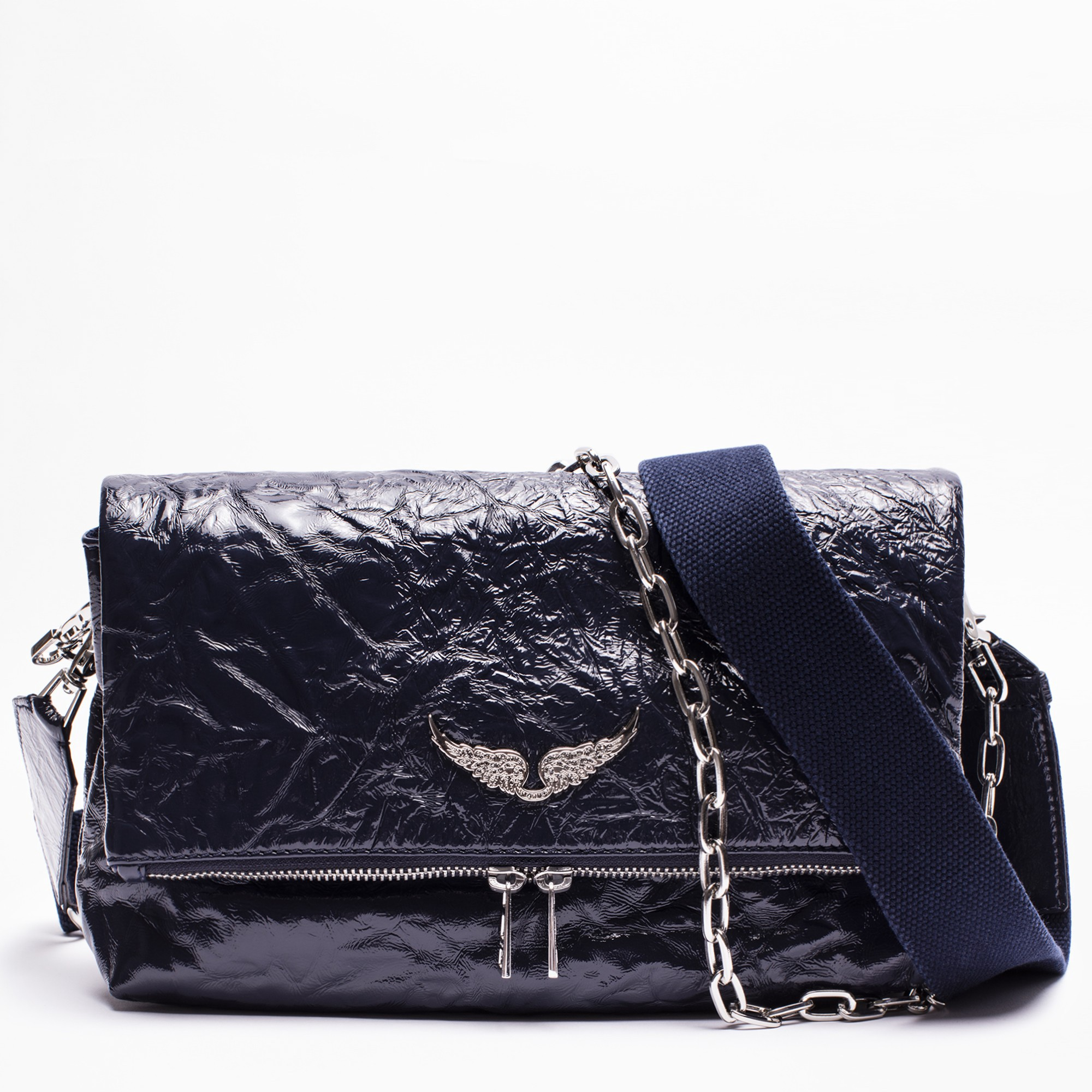 Zadig Voltaire Rocky Creased Bag Bags Zadig And Voltaire Voltaire