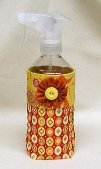 Cute cover-up bag tutorial for my Mary Ellen's Best Press spray bottle from Terry Atkinson!