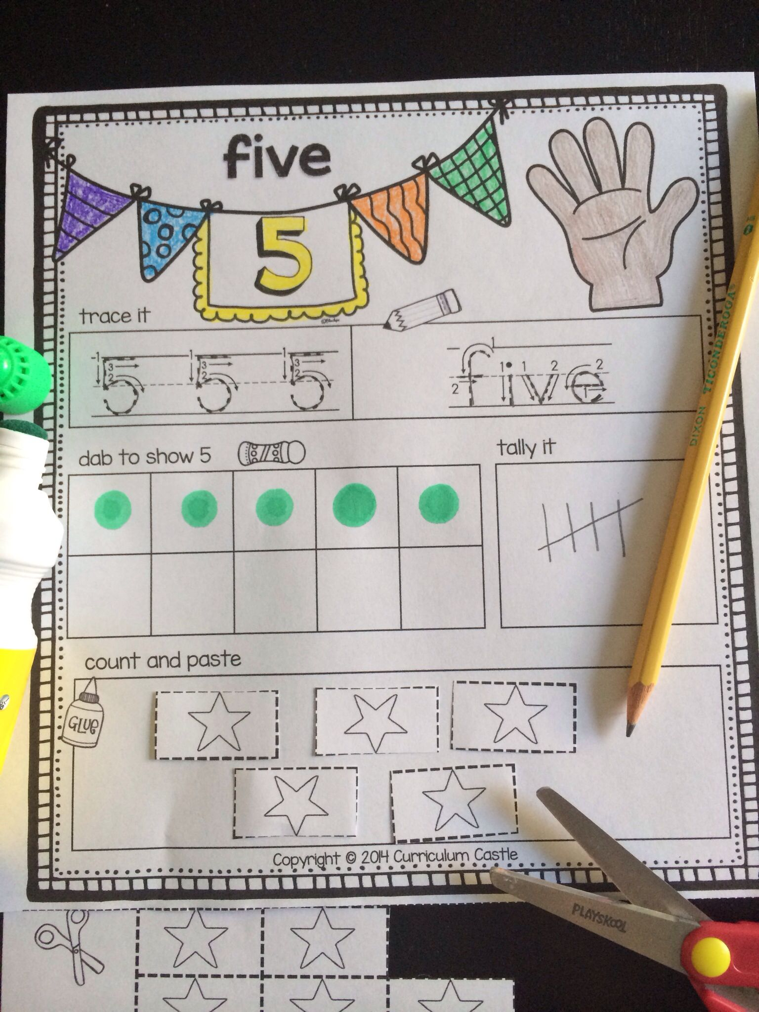 Number Sense 0 To 20 Practice Amp Play