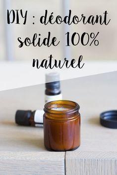 DIY : Déodorant solide 100% naturel