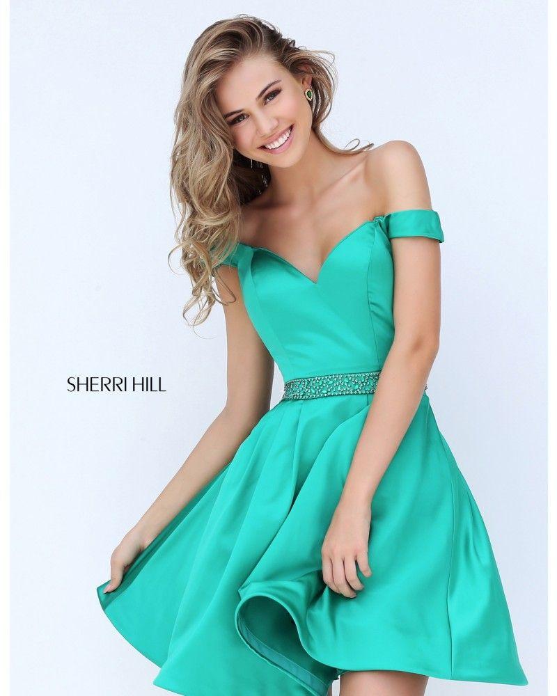 Julia Jasmin Rühle in einem Sherri Hill Kleid von uns. Sommer Sonne ...
