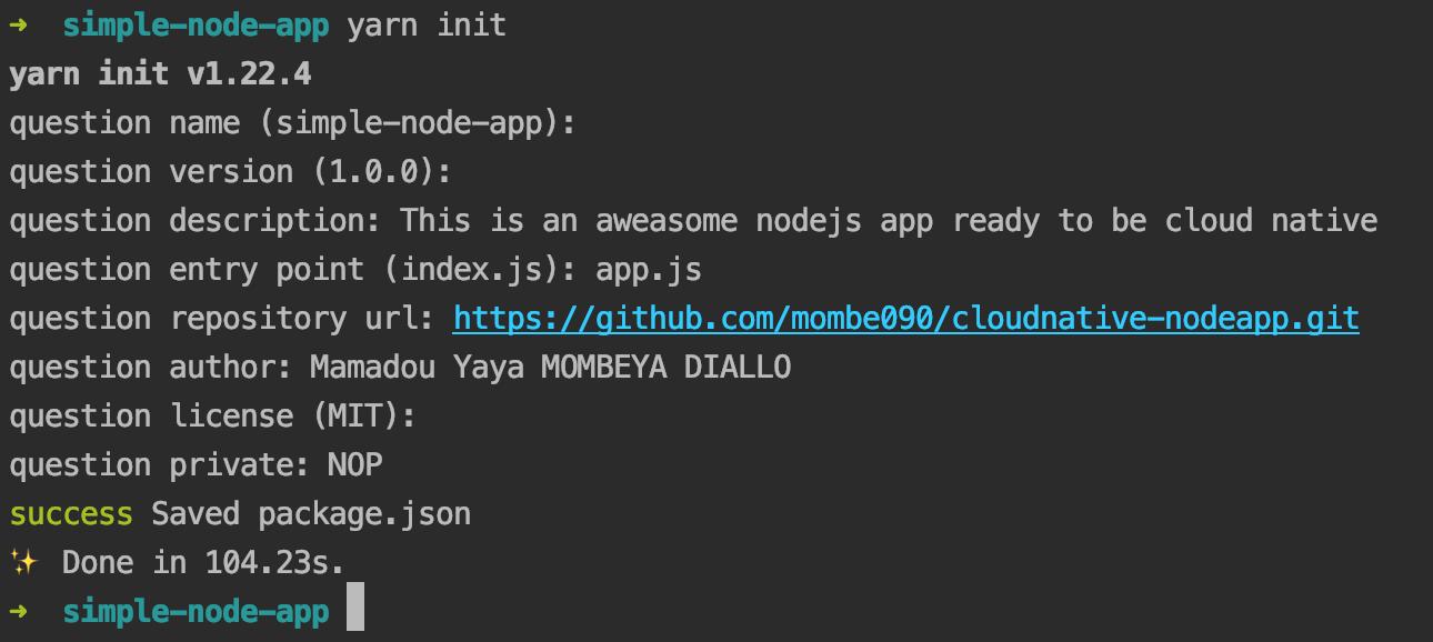 deplacer dans un dossier et puis tapez npm init ou yarn init