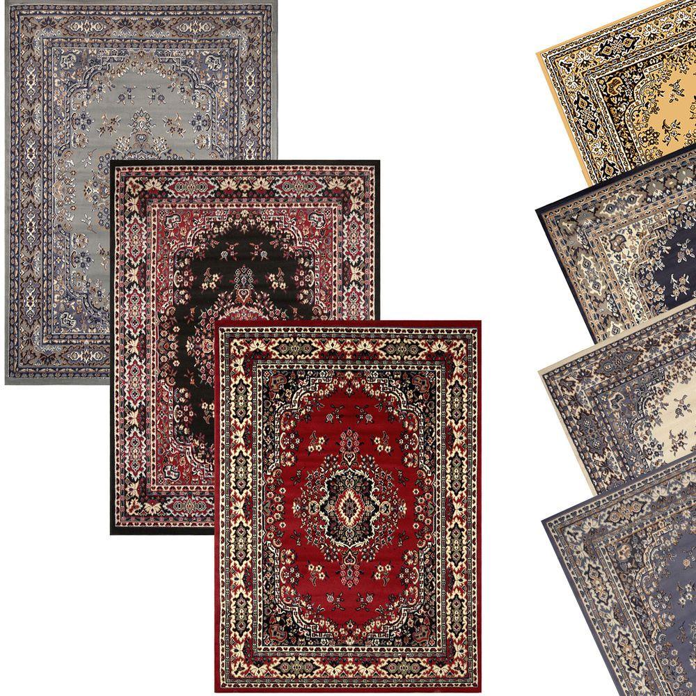 Traditional Oriental Medallion Area Rug Persien Style Carpet Runner Mat Allsizes Oriental Style Rugs Persian Style Rug Area Rugs