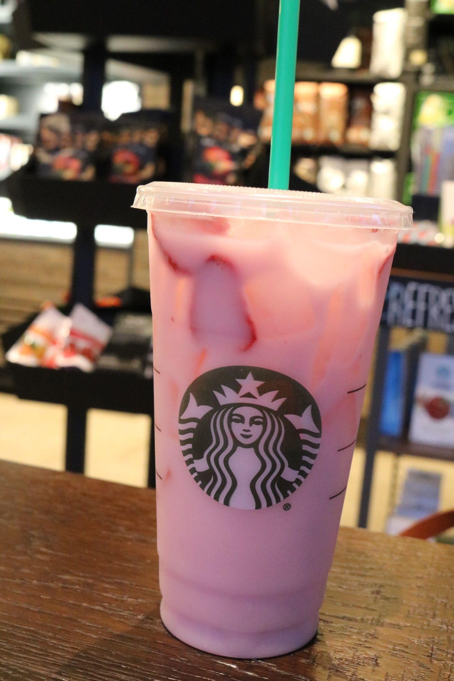 Pink Drink Starbucks, Pink starbucks, Pink drinks
