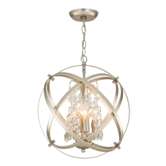 Philbrick 4 Light Unique Globe Chandelier