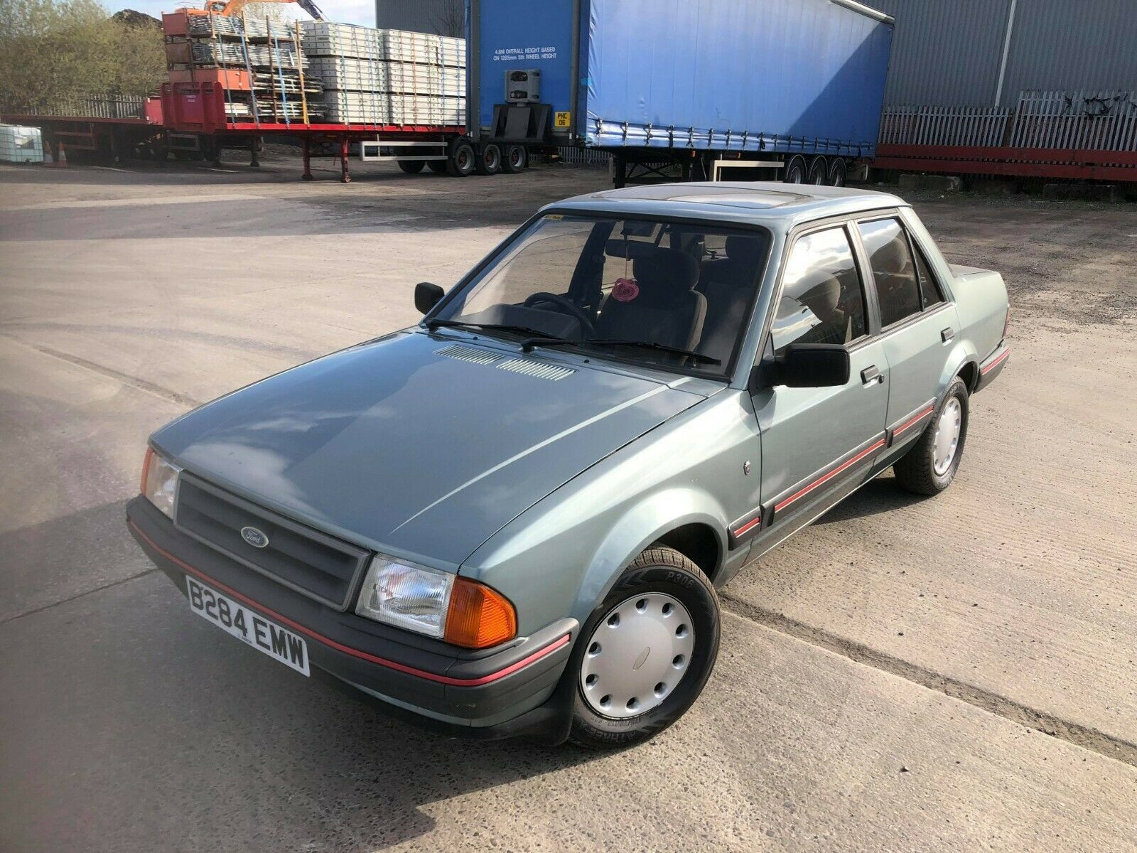 Ford Orion 1 6i Ghia Mk1 1985 Ford Orion Ford Classic Cars