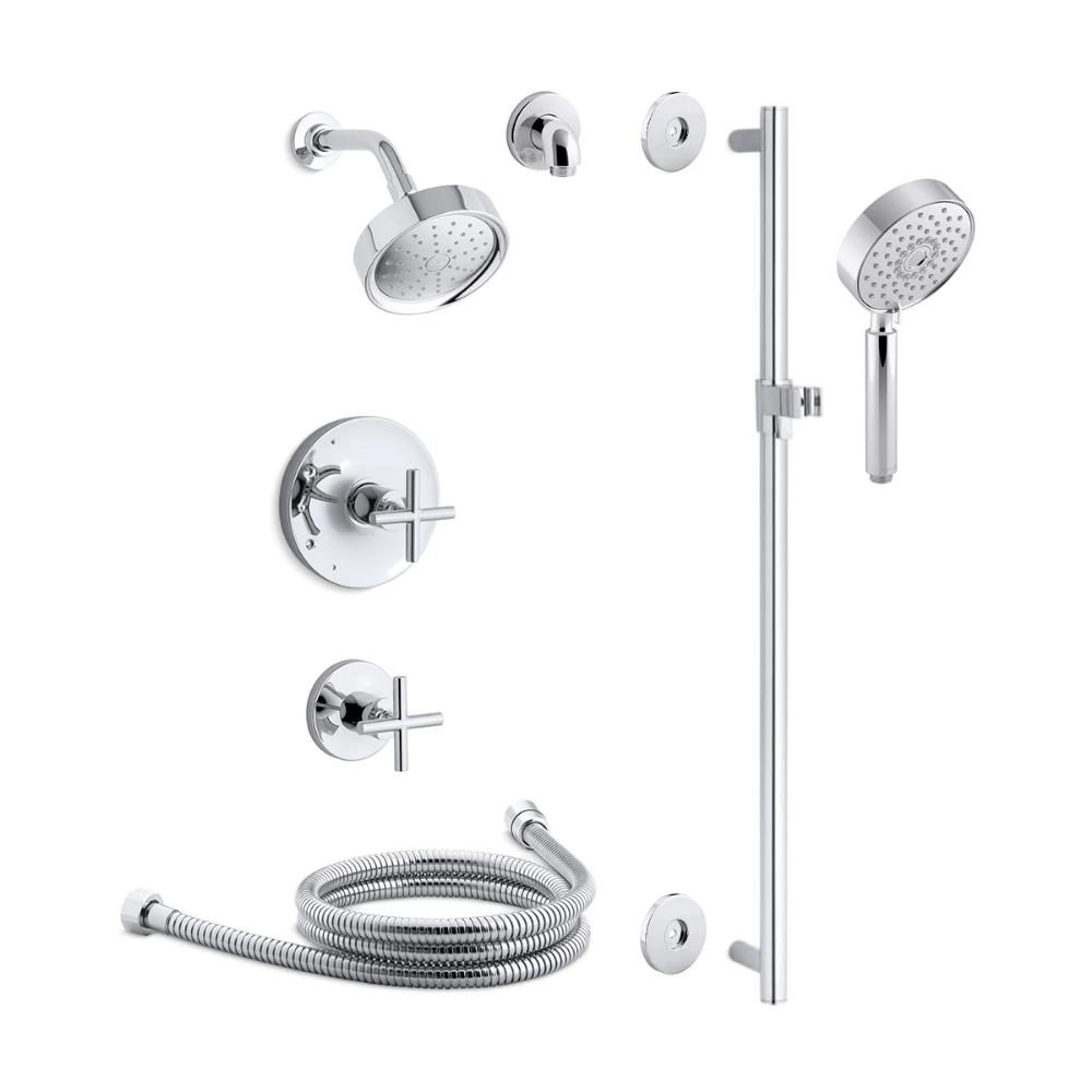 Kohler Kss Purist 3 Rths Shower Systems Hand Shower Shower Arm