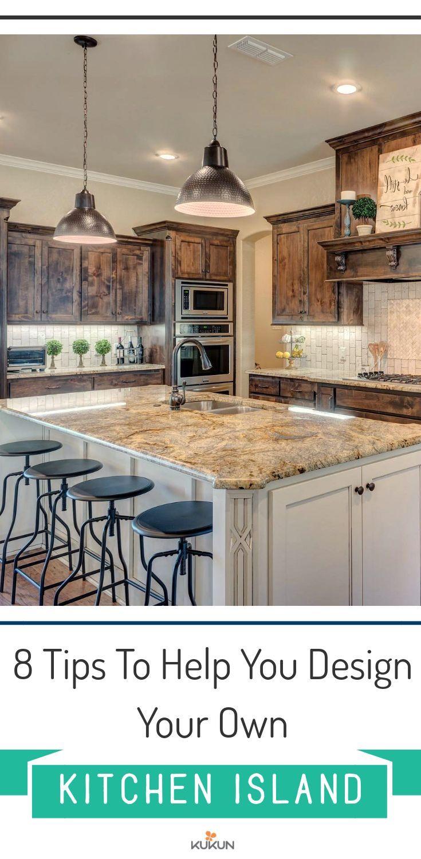 Design Your Own Kitchen: 8 Tips To Design Your Own Kitchen Island