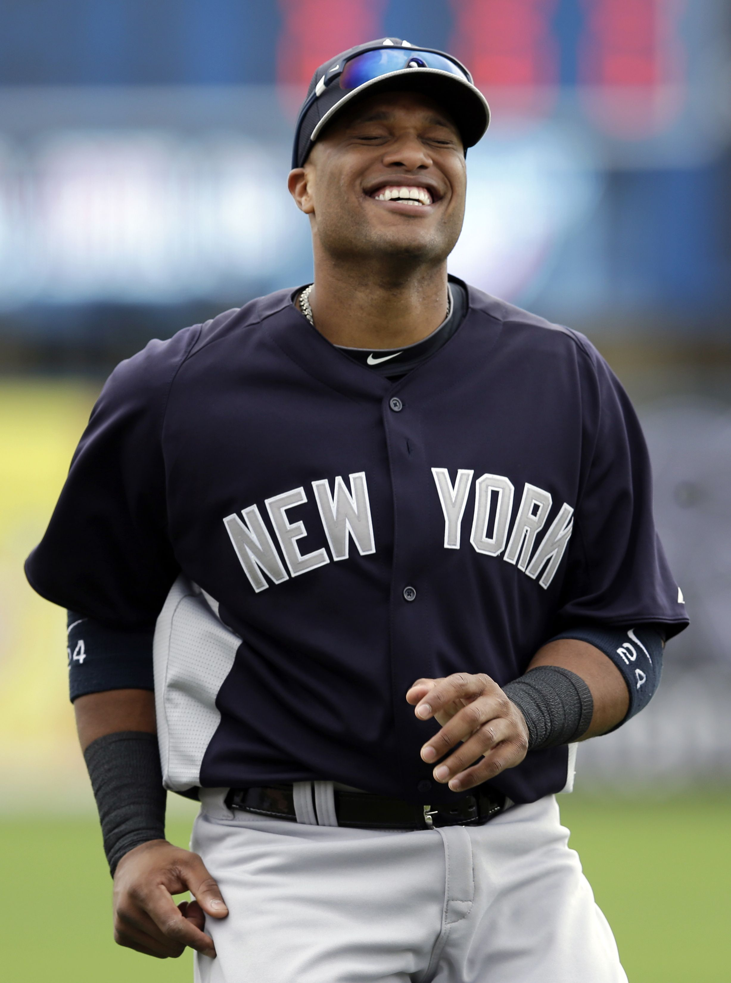 Embracing A New Role Robinson Cano Ready To Go For Yankees Robinson Cano Yankees World Baseball Classic