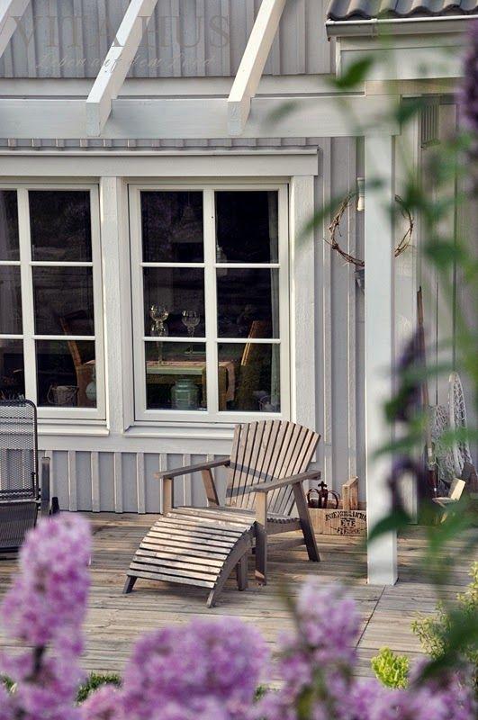 unser schwedenhaus von aussen vitahus holzfassaden pinterest skandinavisch wohnen. Black Bedroom Furniture Sets. Home Design Ideas