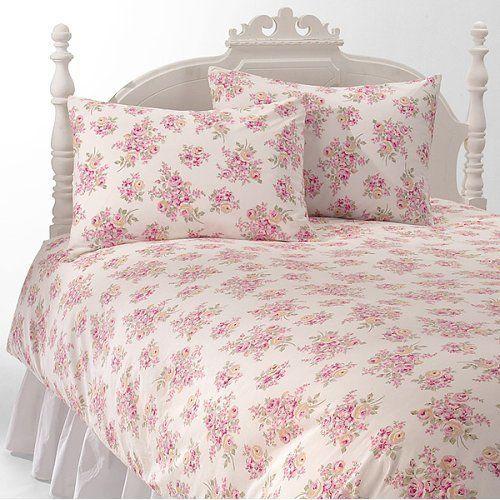 Simply Shabby Chic Rachel Ashwell Blush Beauty Pink Roses Full Queen Duvet Set Duvet Sets King Size Duvet Sets Simply Shabby Chic