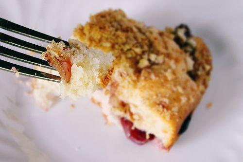 Spoonful of Sugar: Cherry Coffee Cake