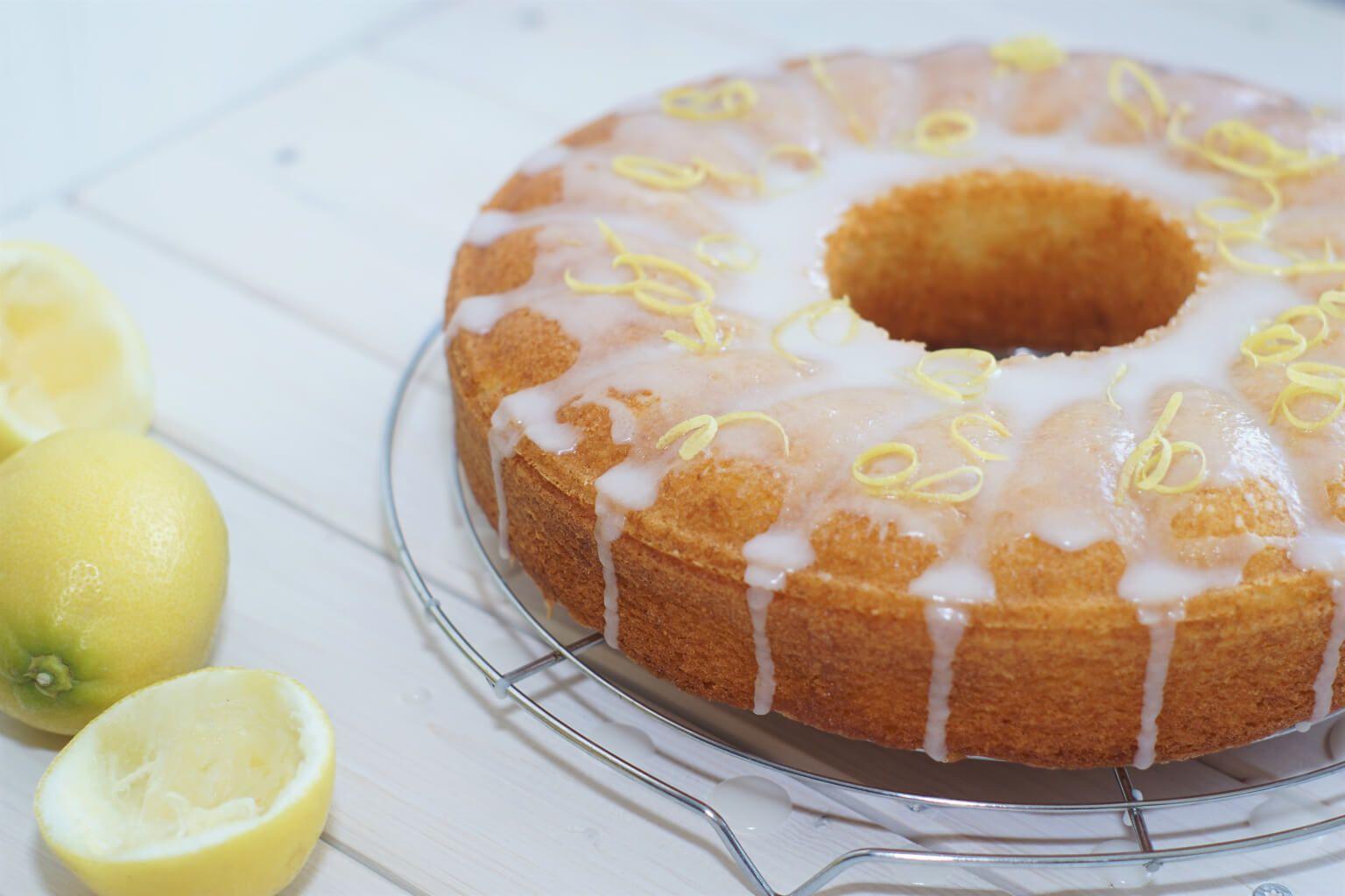 Zitronen Buttermilch Kuchen Backen Desserts Kuchen Und Baking