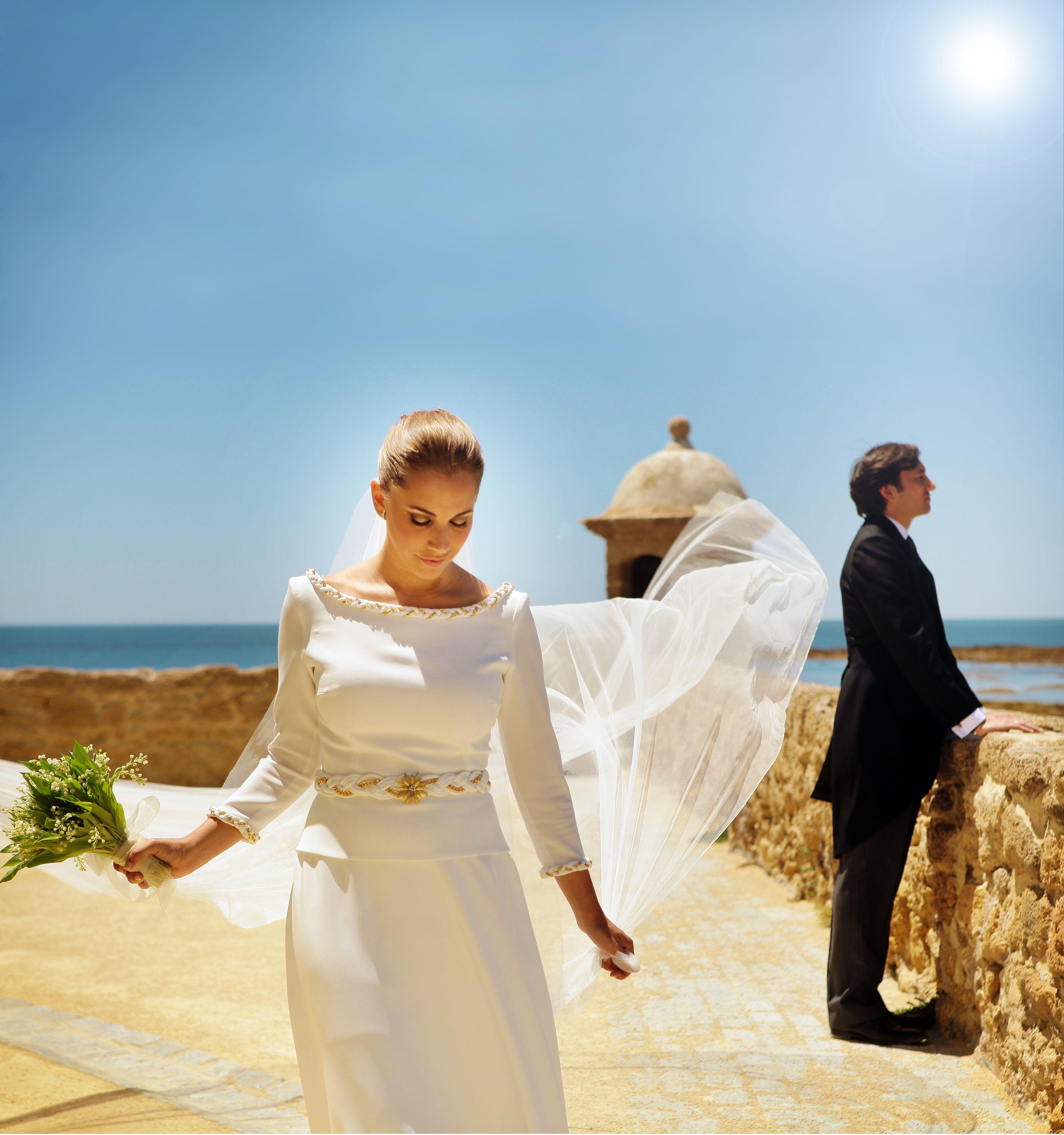 bodas #ideales en el #Parador de #Cádiz #reportaje de #fotos #novios ...