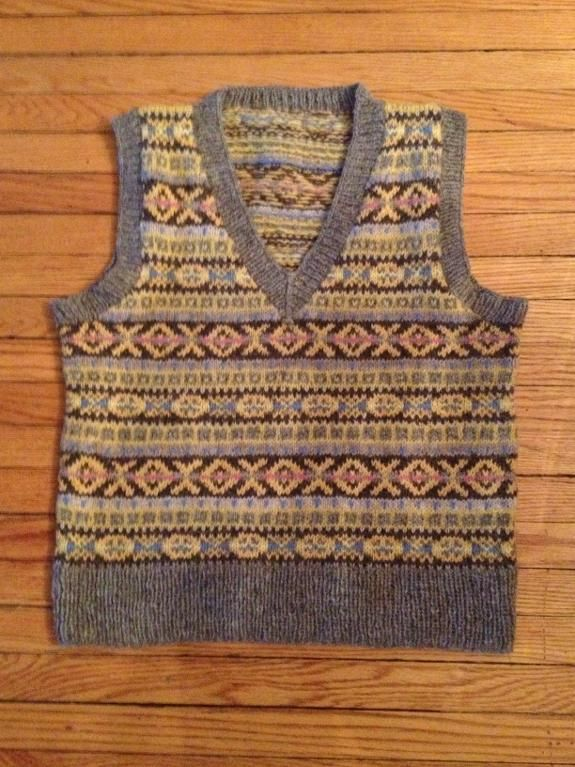 The Fair Isle Vest: Stranded & Steeked | Fair isles, Tricot and ...