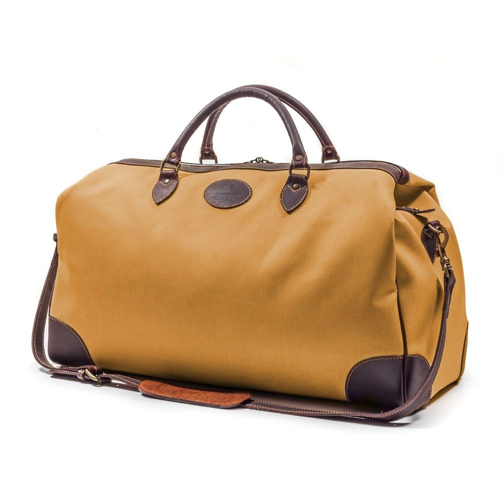 14338157a Ettinger Pursuits Sand & Havana Cotswold Weekend Bag   Accessories of the  Day   Bags, Fashion, Mens fashion
