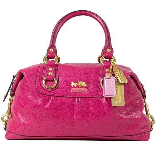 Bright Pink Coach Bag This Is The Size Style I Love